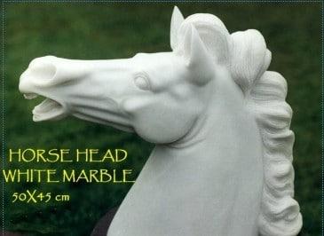 Sculpture en marbre David Kemp